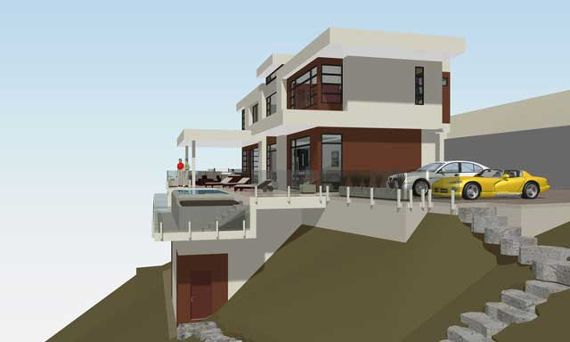 photo gallery of 3d models of our custom home designs